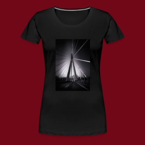 Rio-Andirrio-Brücke - Frauen Premium T-Shirt