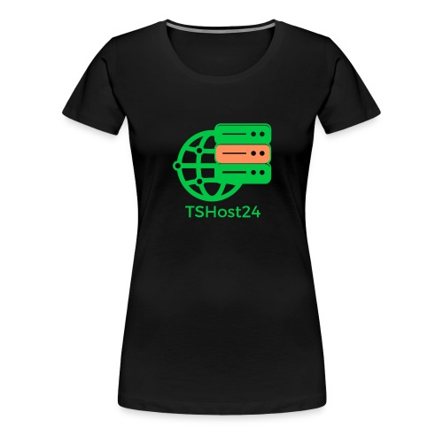 TSHost24 - Frauen Premium T-Shirt