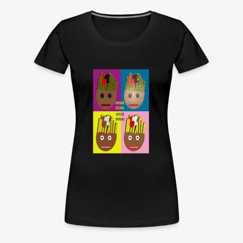 Fryhair Poparted - Frauen Premium T-Shirt
