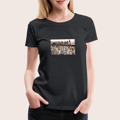 Hochhaus jpg - Frauen Premium T-Shirt