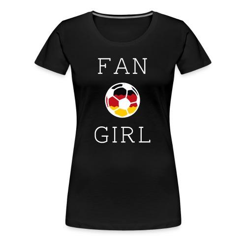 Fangirl Deutschland Fußball Nationalelf 2018 - Frauen Premium T-Shirt