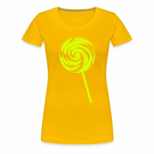 Retro Lolly - Frauen Premium T-Shirt