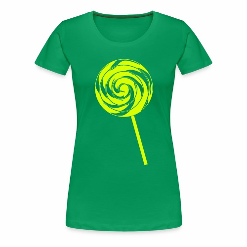 Retro Lolly - Frauen Premium T-Shirt