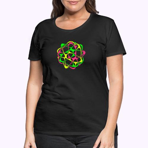 Cyber Twister 1 - Camiseta premium mujer