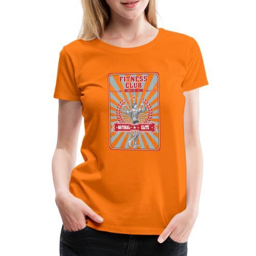 Fitness Club Retro Musculation - T-shirt Premium Femme