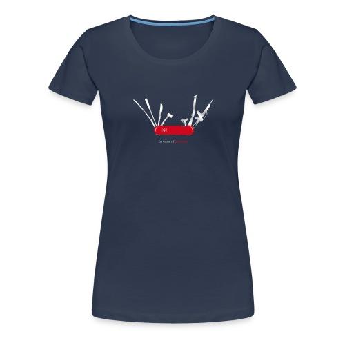 In case of zombies - Frauen Premium T-Shirt