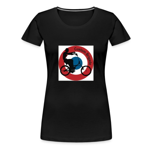 Cocarde Chopper - T-shirt Premium Femme