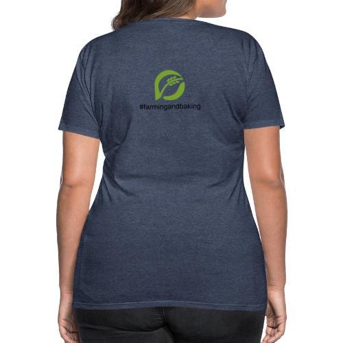 farmingandbaking_logogruen - Frauen Premium T-Shirt