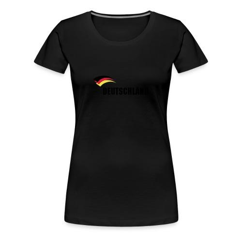 deutschland5 - Frauen Premium T-Shirt