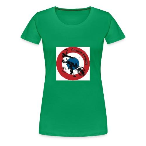 Cocarde Low - T-shirt Premium Femme