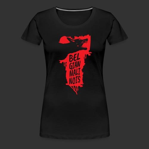 Belgian Malinois HEAD - Women's Premium T-Shirt