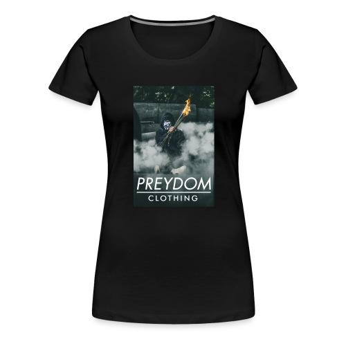 PREYDOM CLOTHING - Design 2 - Dame premium T-shirt