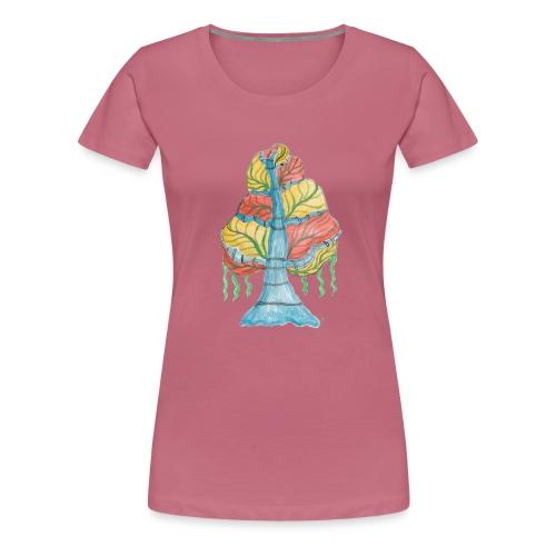albero_alma_2015 - Maglietta Premium da donna