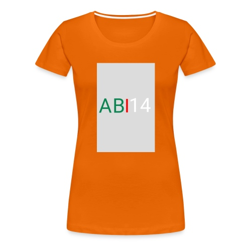 ABI14 - T-shirt Premium Femme