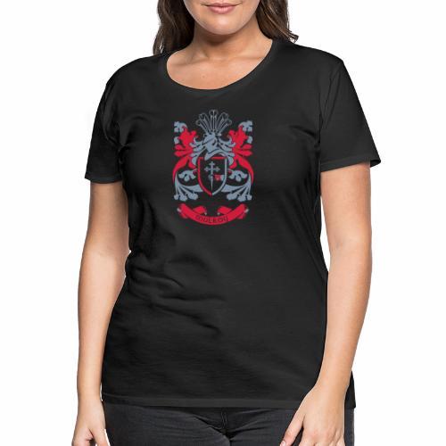 Family Crest: Mulroy - Women's Premium T-Shirt