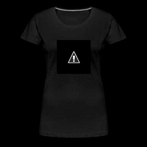 !warning! - Frauen Premium T-Shirt