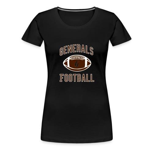 Generals Football Special G - Frauen Premium T-Shirt