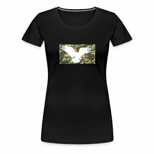 Flying Eagles Army style Pulli -Schwarz - Frauen Premium T-Shirt