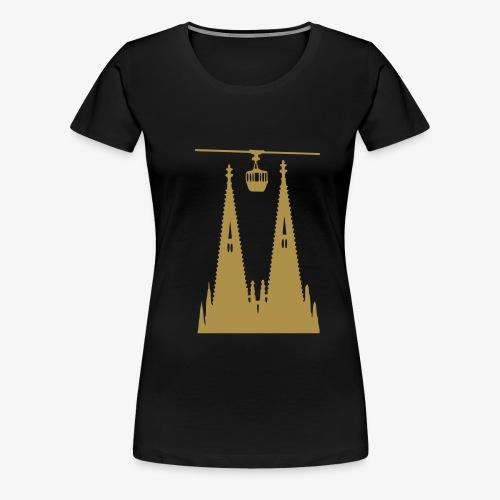 Köln - Domtürme plus Gondel - Frauen Premium T-Shirt