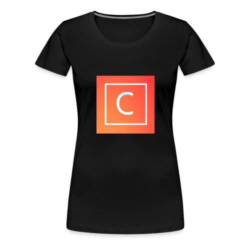Logo [FIRST DESIGN!!!] - Women's Premium T-Shirt