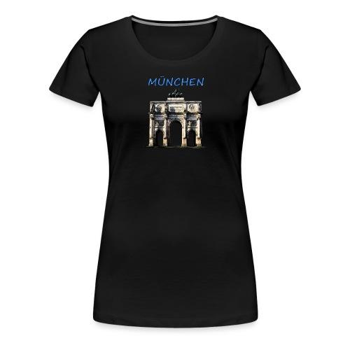 Münchnen Siegestor - Frauen Premium T-Shirt