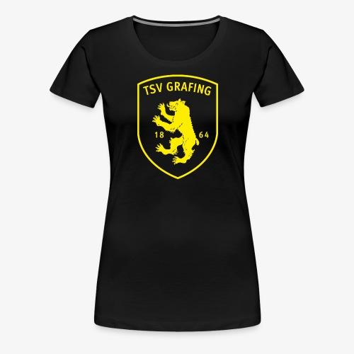 TSV Grafing gelb - Frauen Premium T-Shirt