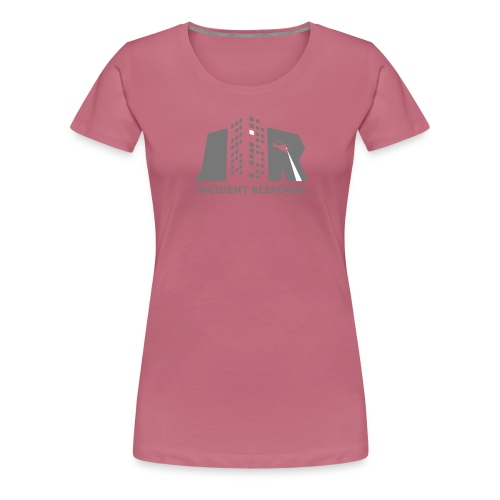 Incident response (monochrome) - Vrouwen Premium T-shirt