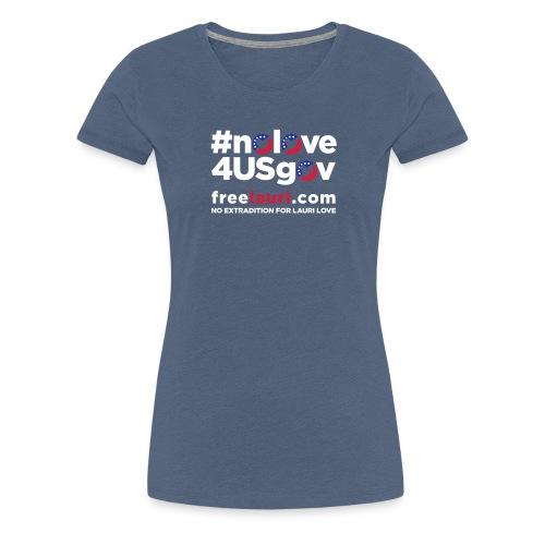 noloveblack01 - Women's Premium T-Shirt