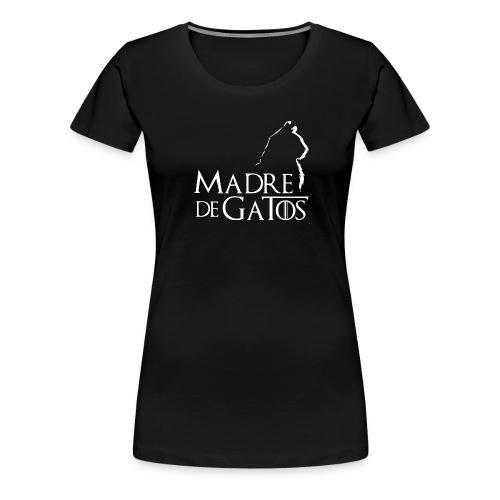 2 negro esp w png - Camiseta premium mujer