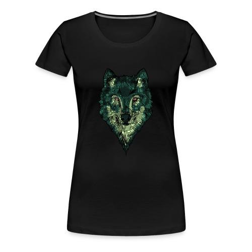 Ulv - Premium T-skjorte for kvinner