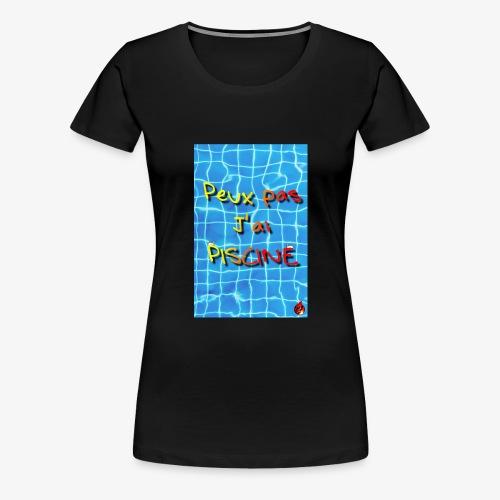 La piscine - T-shirt Premium Femme