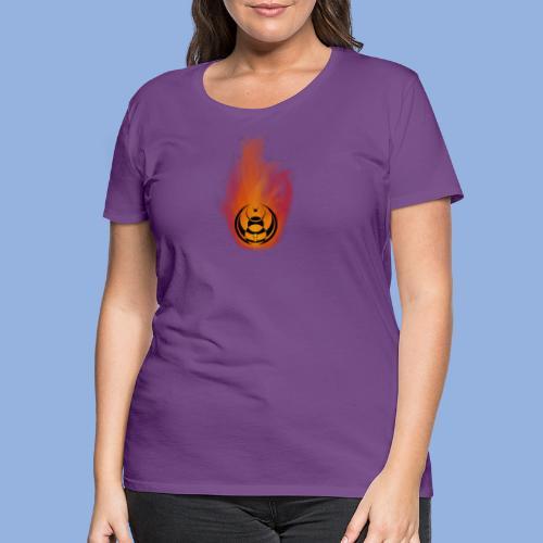 Seven nation army Fire - T-shirt Premium Femme