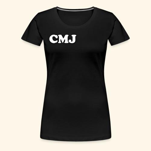 CMJ white merch - Women's Premium T-Shirt