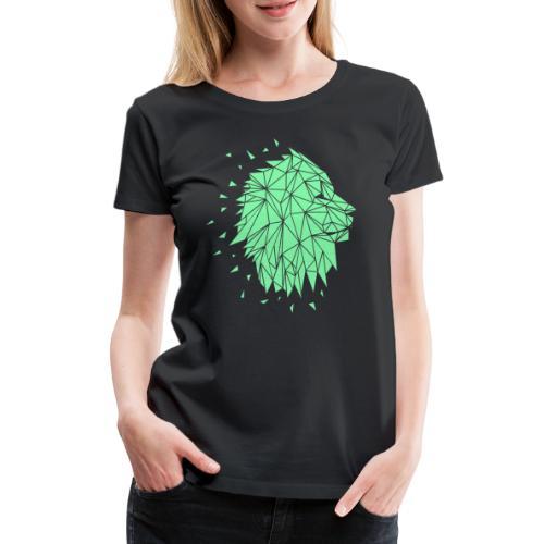 Lion - Mint - Frauen Premium T-Shirt