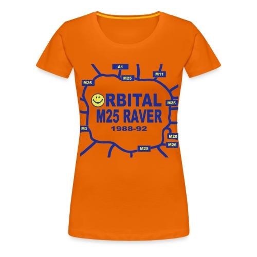 Orbital M25 Acid Hosue Raver - Women's Premium T-Shirt