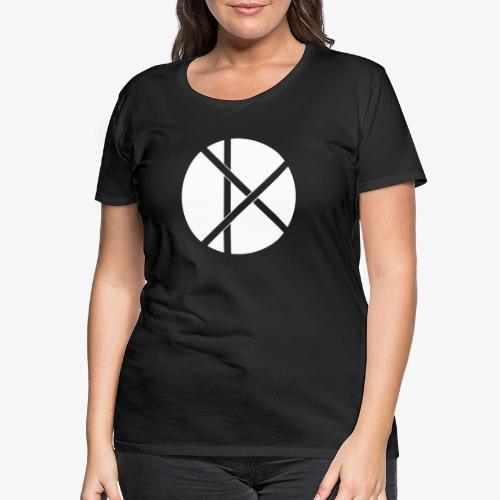Don Logo - valkoinen - Naisten premium t-paita