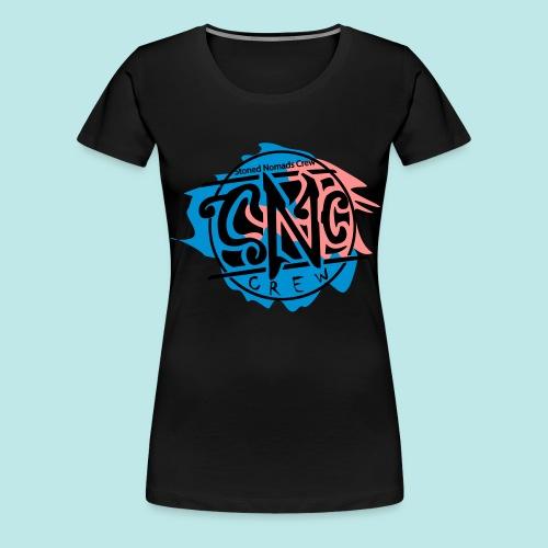 snc_logo_final_NEU_3Farbig - Frauen Premium T-Shirt