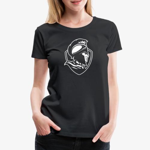 Logo ljus - Premium-T-shirt dam