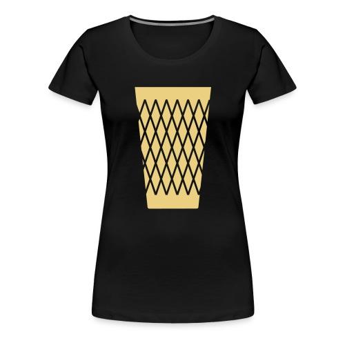 Ebbelwoi Geripptes - Frauen Premium T-Shirt
