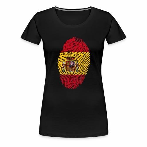 Huella España - Camiseta premium mujer