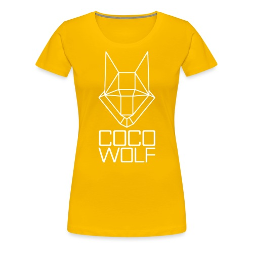 COCO WOLF - Frauen Premium T-Shirt