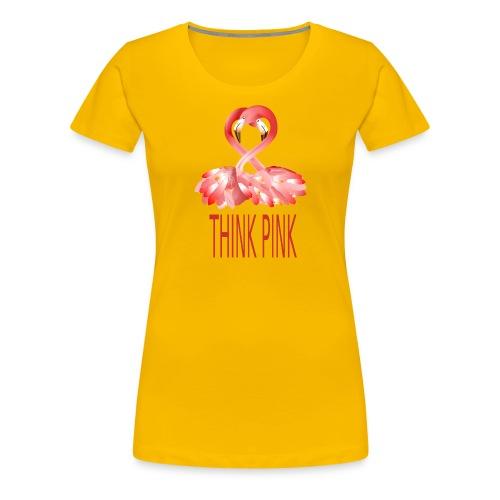 Flamingo - Frauen Premium T-Shirt