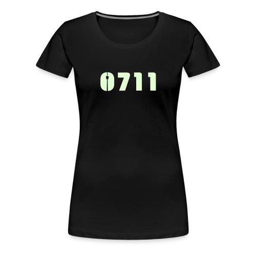 Baby-Mütze Stuttgart-0711 - Frauen Premium T-Shirt