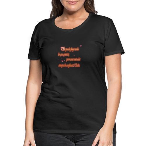 Mirada - Camiseta premium mujer
