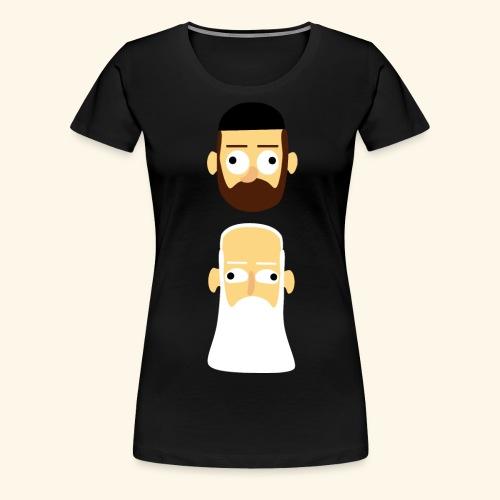 Stille Willem en Leipe Leo - Vrouwen Premium T-shirt
