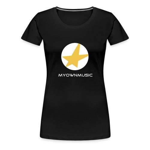 MOM Logo Weiß - Frauen Premium T-Shirt