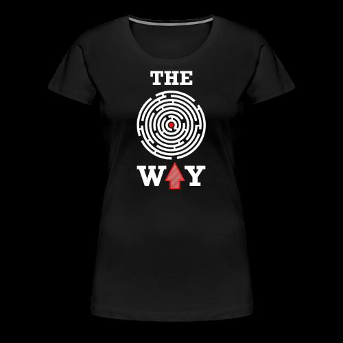 The Way - Frauen Premium T-Shirt