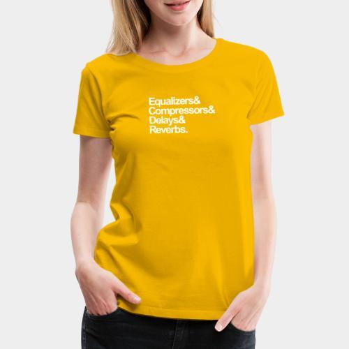 EQ - COMP -DEL - REV - Frauen Premium T-Shirt