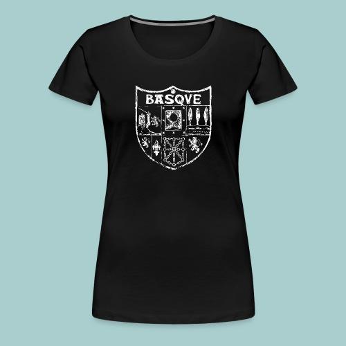 hogar escudo zazpiak bat (blanco) - Camiseta premium mujer