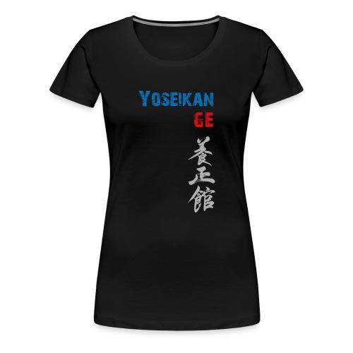Tshirt YBG (col V) - T-shirt Premium Femme